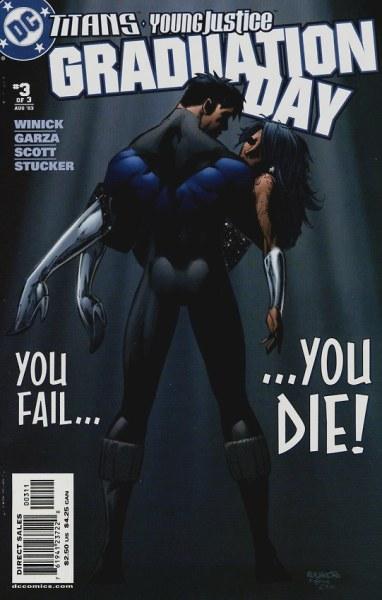 Primer aporte de comics Teen Titans graduation day 3277